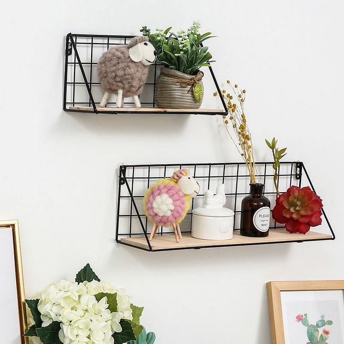 94 Wood Wall Shelves Designs That Inspire To Add To The Beauty Of Your Home Space 38