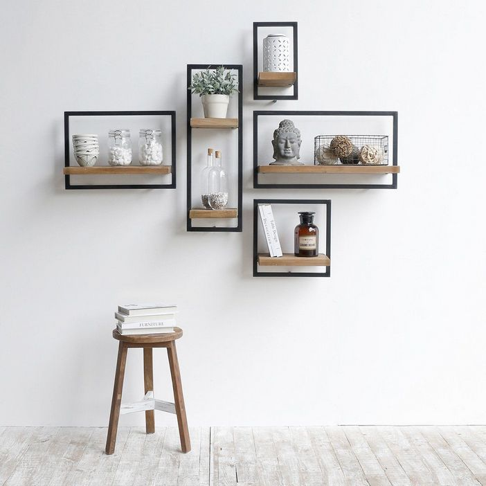 94 Wood Wall Shelves Designs That Inspire To Add To The Beauty Of Your Home Space 40