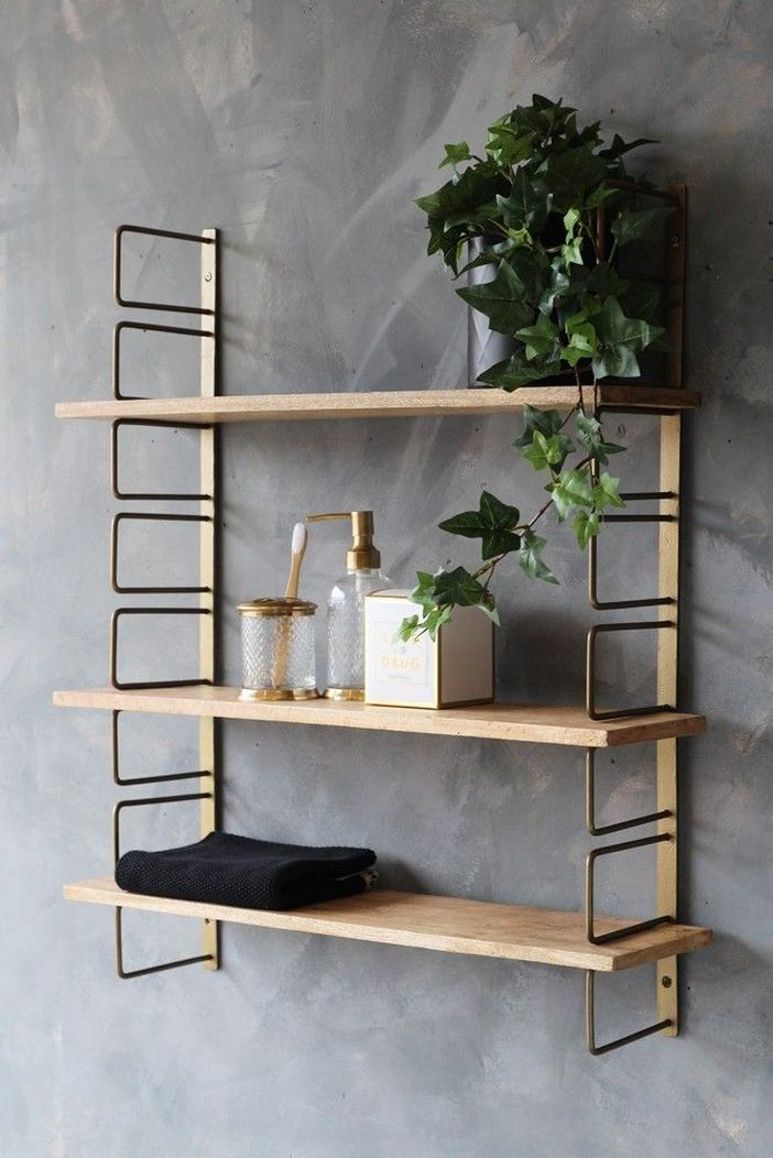 94 Wood Wall Shelves Designs That Inspire To Add To The Beauty Of Your Home Space 44