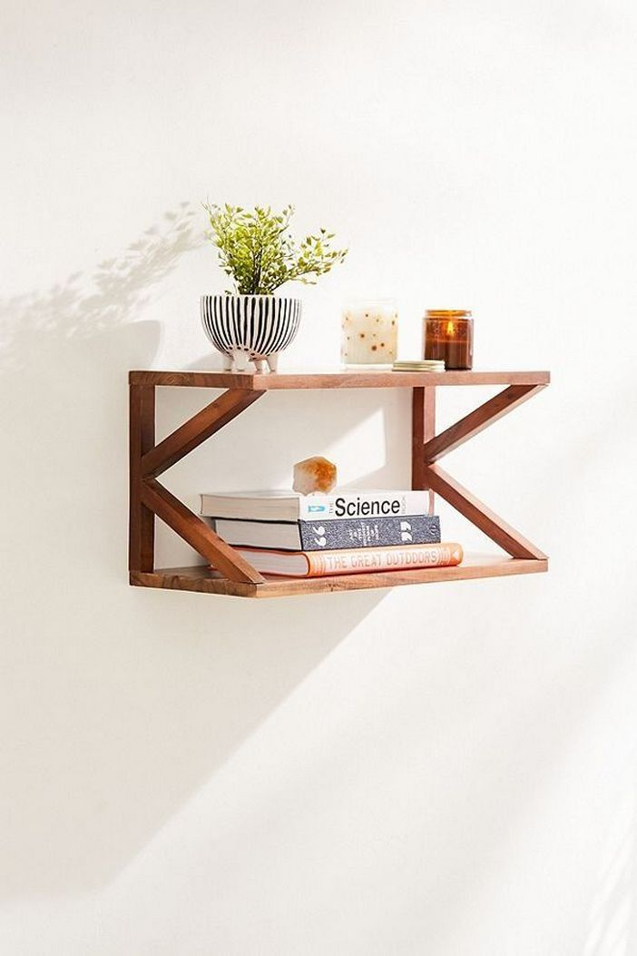 94 Wood Wall Shelves Designs That Inspire To Add To The Beauty Of Your Home Space 54
