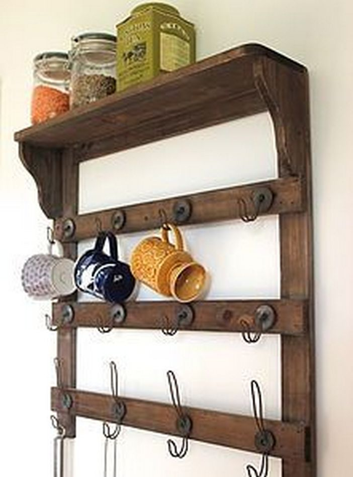 94 Wood Wall Shelves Designs That Inspire To Add To The Beauty Of Your Home Space 86