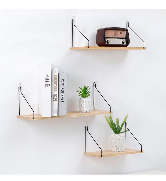 94 Wood Wall Shelves Designs That Inspire To Add To The Beauty Of Your Home Space 88
