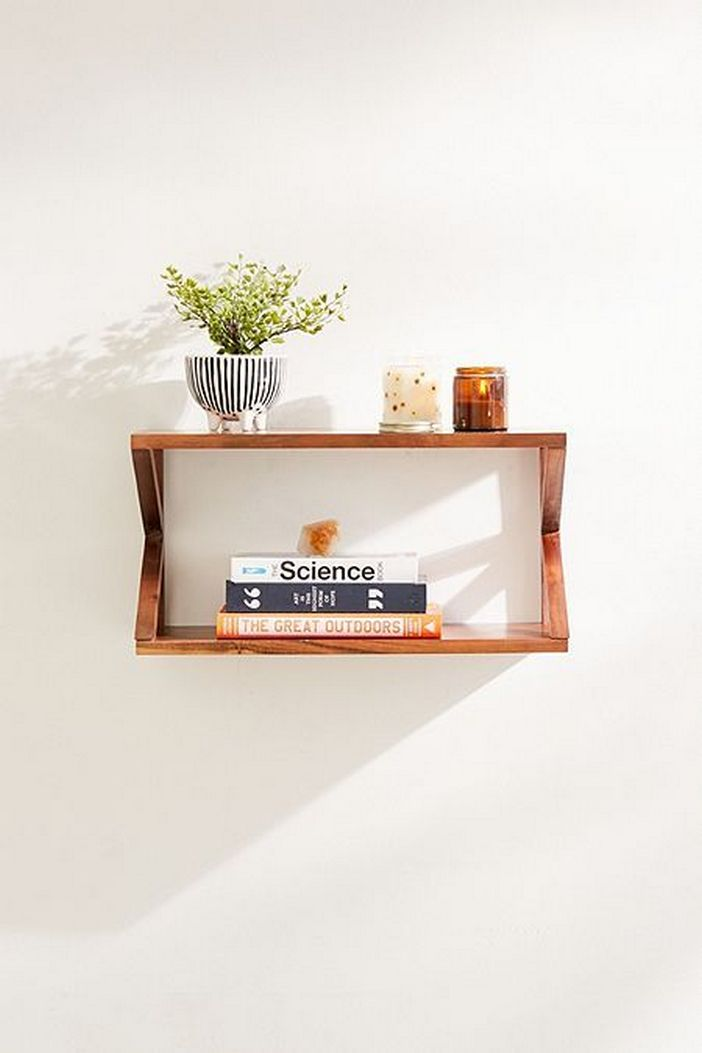 94 Wood Wall Shelves Designs That Inspire To Add To The Beauty Of Your Home Space 90