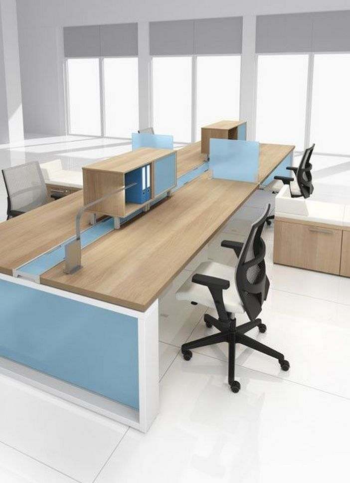 95 Modern Office Decorating Ideas With Inspiring Furniture To Add Style And Functionality To Your Workplace 16
