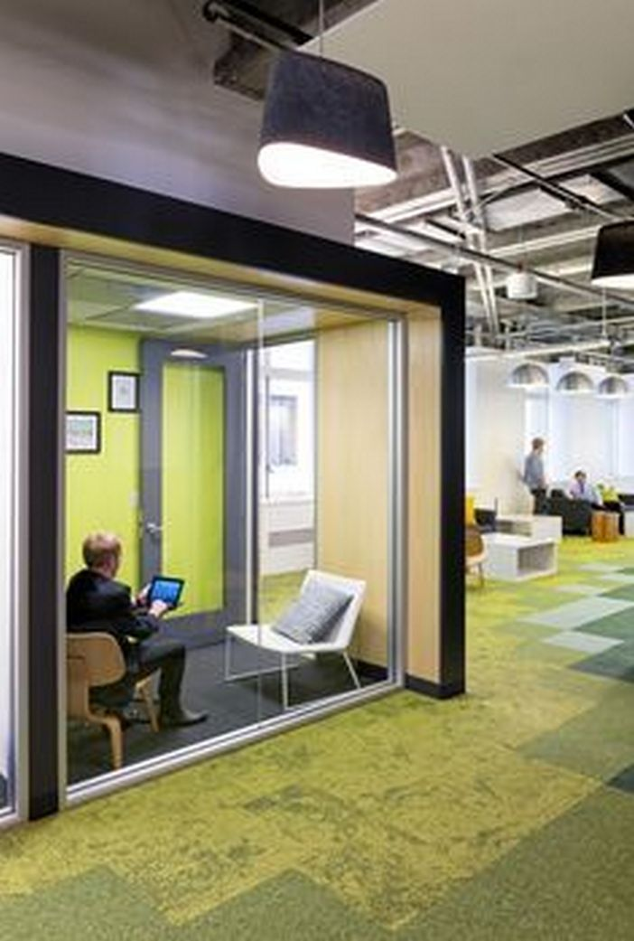 95 Modern Office Decorating Ideas With Inspiring Furniture To Add Style And Functionality To Your Workplace 18