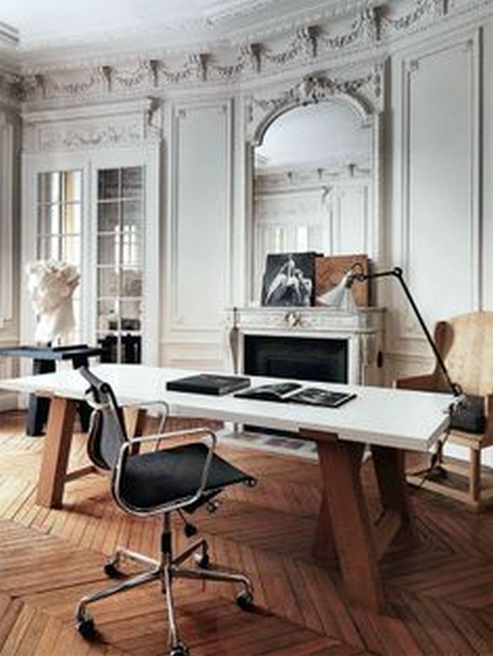 95 Modern Office Decorating Ideas With Inspiring Furniture To Add Style And Functionality To Your Workplace 39