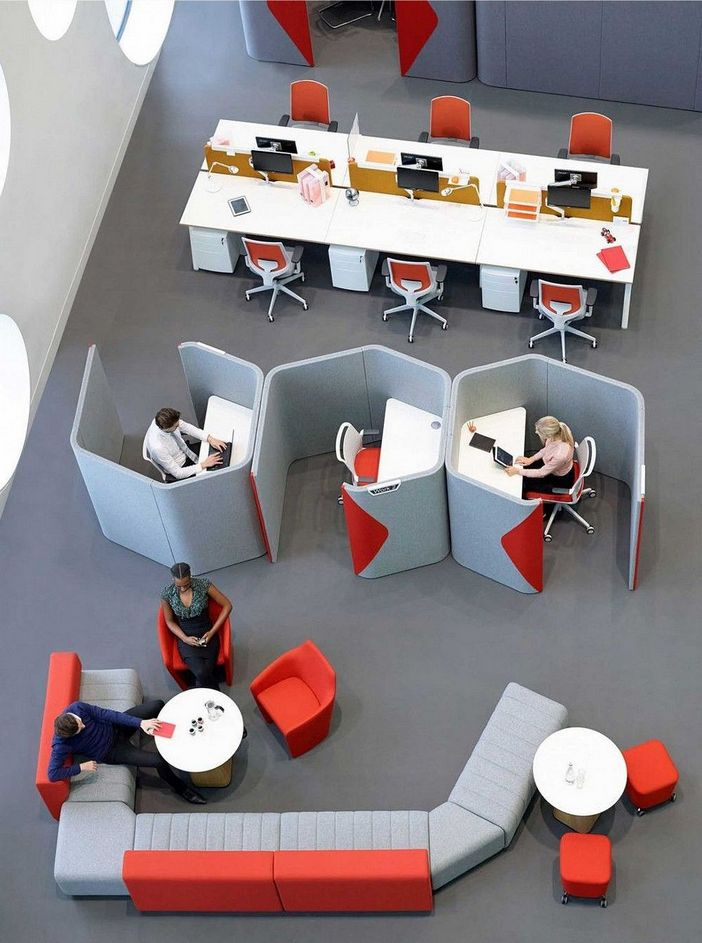 95 Modern Office Decorating Ideas With Inspiring Furniture To Add Style And Functionality To Your Workplace 54