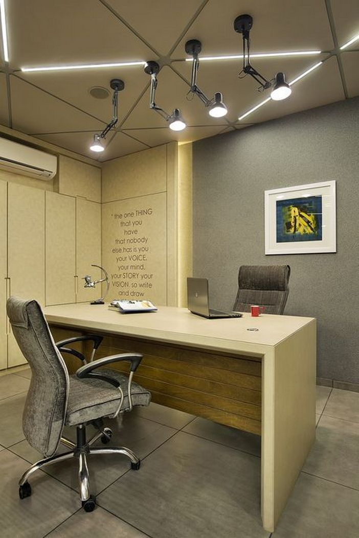 95 Modern Office Decorating Ideas With Inspiring Furniture To Add Style And Functionality To Your Workplace 67