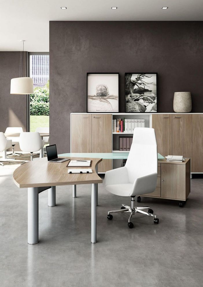 95 Modern Office Decorating Ideas With Inspiring Furniture To Add Style And Functionality To Your Workplace 92