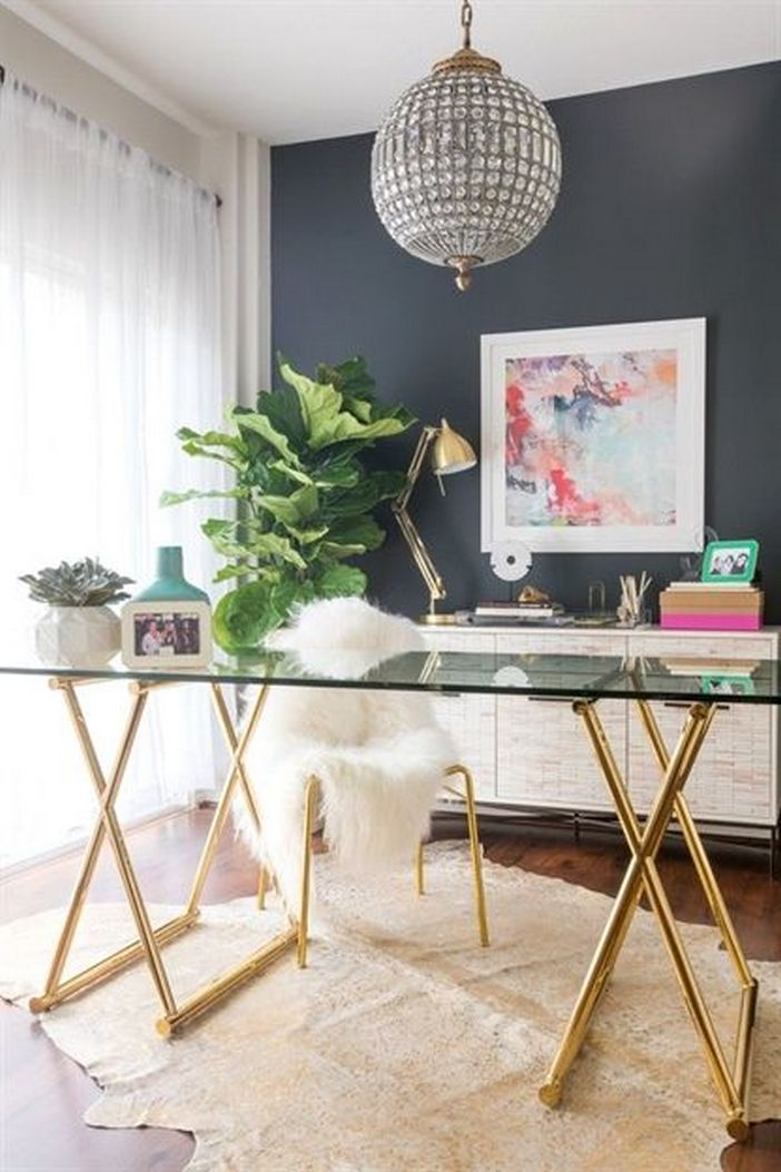 95 Modern Office Decorating Ideas With Inspiring Furniture To Add Style And Functionality To Your Workplace 94