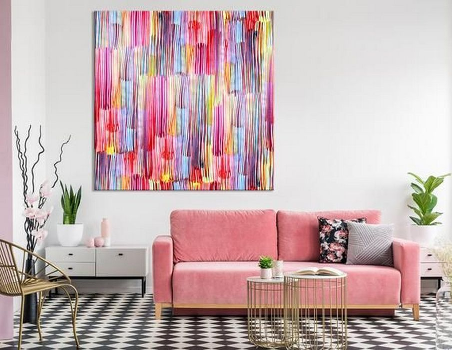 96 Modern Wall Decor Models That Make The Living Room Of Your House Come Alive 36