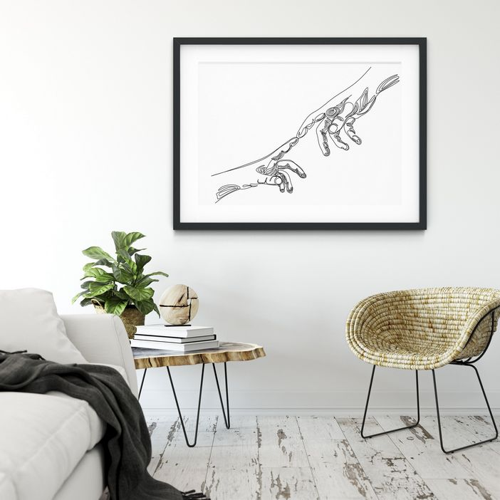 96 Modern Wall Decor Models That Make The Living Room Of Your House Come Alive 39