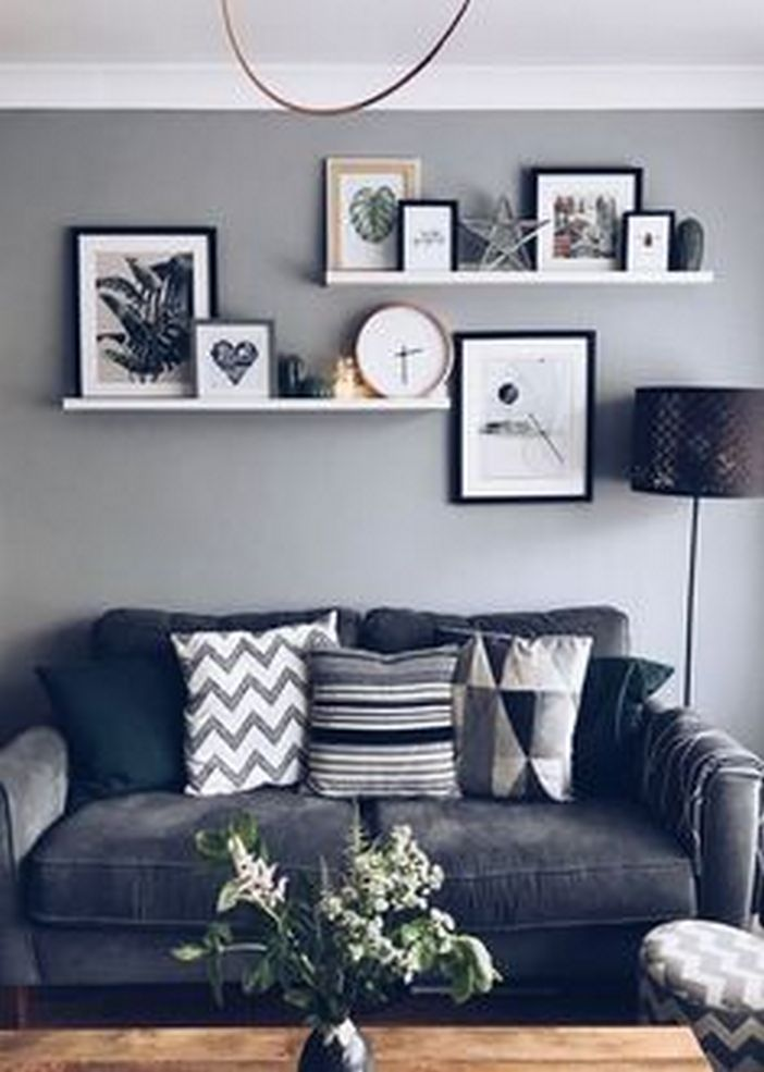 96 Modern Wall Decor Models That Make The Living Room Of Your House Come Alive 6