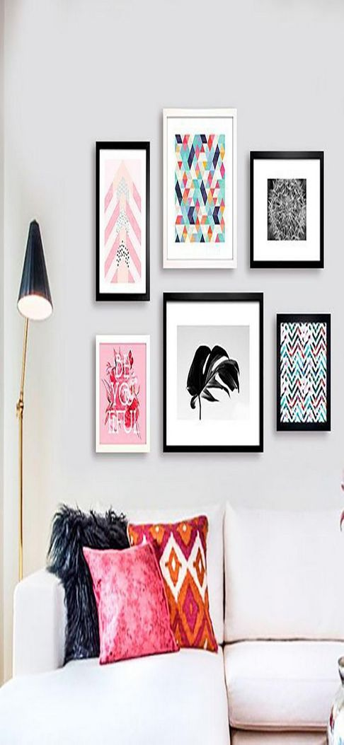 96 Modern Wall Decor Models That Make The Living Room Of Your House Come Alive 83