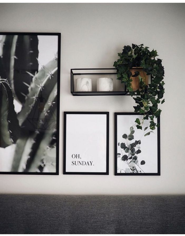 96 Modern Wall Decor Models That Make The Living Room Of Your House Come Alive 92