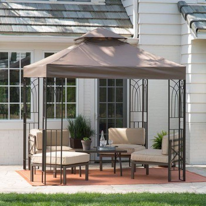 97 Great Patio Gazebo Canopy Design Ideas That Are Great For Replacing Your Gazebo Canopy 10