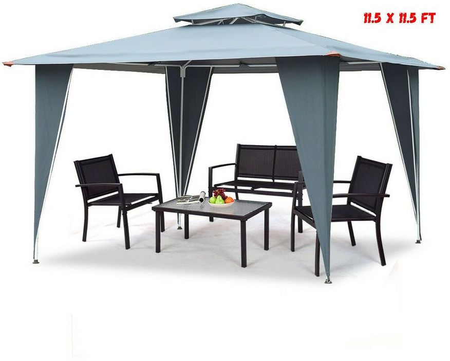 97 Great Patio Gazebo Canopy Design Ideas That Are Great For Replacing Your Gazebo Canopy 13
