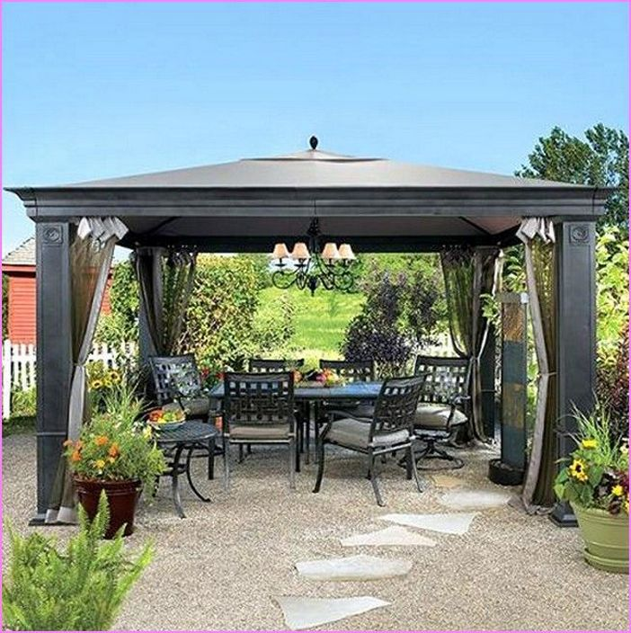 97 Great Patio Gazebo Canopy Design Ideas That Are Great For Replacing Your Gazebo Canopy 26