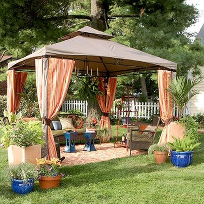 97 Great Patio Gazebo Canopy Design Ideas That Are Great For Replacing Your Gazebo Canopy 33
