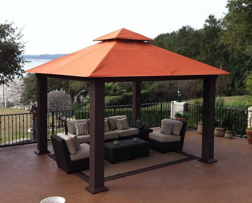97 Great Patio Gazebo Canopy Design Ideas That Are Great For Replacing Your Gazebo Canopy 42
