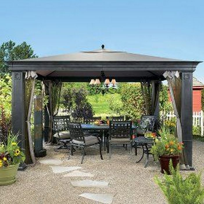 97 Great Patio Gazebo Canopy Design Ideas That Are Great For Replacing Your Gazebo Canopy 50