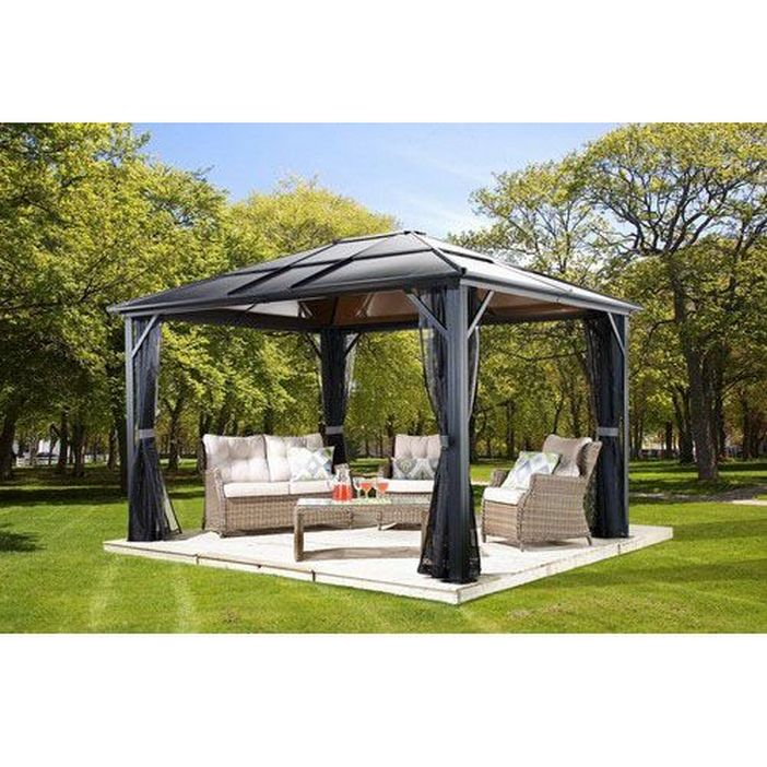97 Great Patio Gazebo Canopy Design Ideas That Are Great For Replacing Your Gazebo Canopy 52