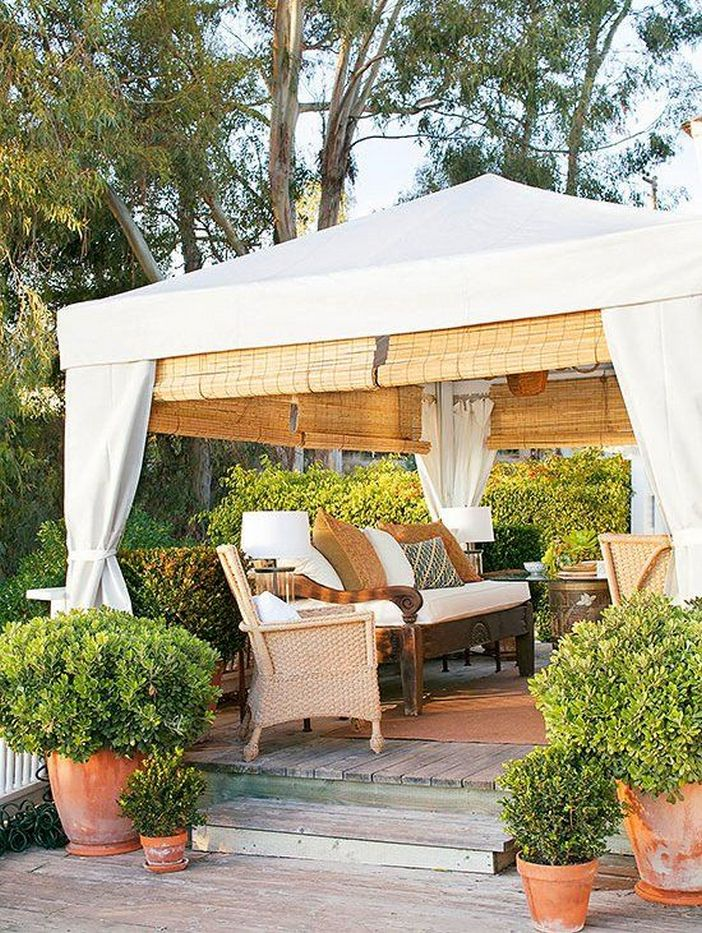 97 Great Patio Gazebo Canopy Design Ideas That Are Great For Replacing Your Gazebo Canopy 68
