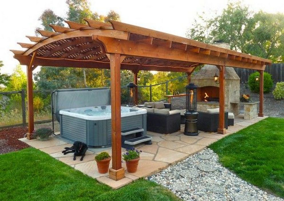 97 Great Patio Gazebo Canopy Design Ideas That Are Great For Replacing Your Gazebo Canopy 74
