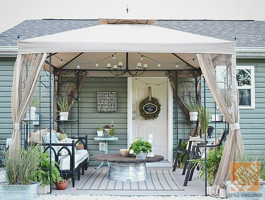 97 Great Patio Gazebo Canopy Design Ideas That Are Great For Replacing Your Gazebo Canopy 77