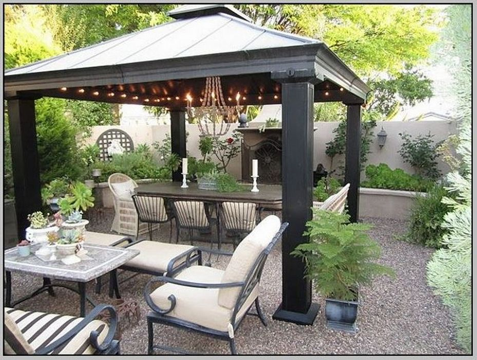 97 Great Patio Gazebo Canopy Design Ideas That Are Great For Replacing Your Gazebo Canopy 8
