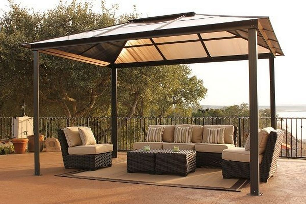 97 Great Patio Gazebo Canopy Design Ideas That Are Great For Replacing Your Gazebo Canopy 85