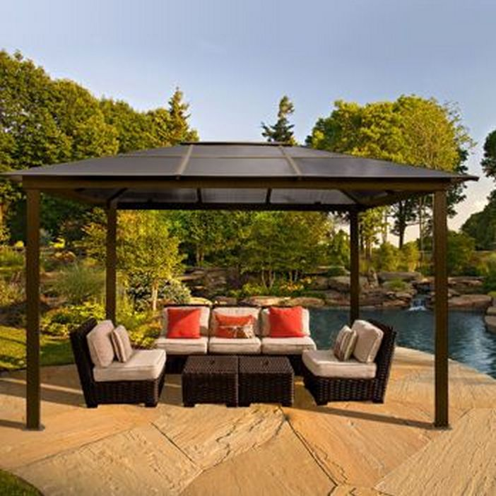 97 Great Patio Gazebo Canopy Design Ideas That Are Great For Replacing Your Gazebo Canopy 86
