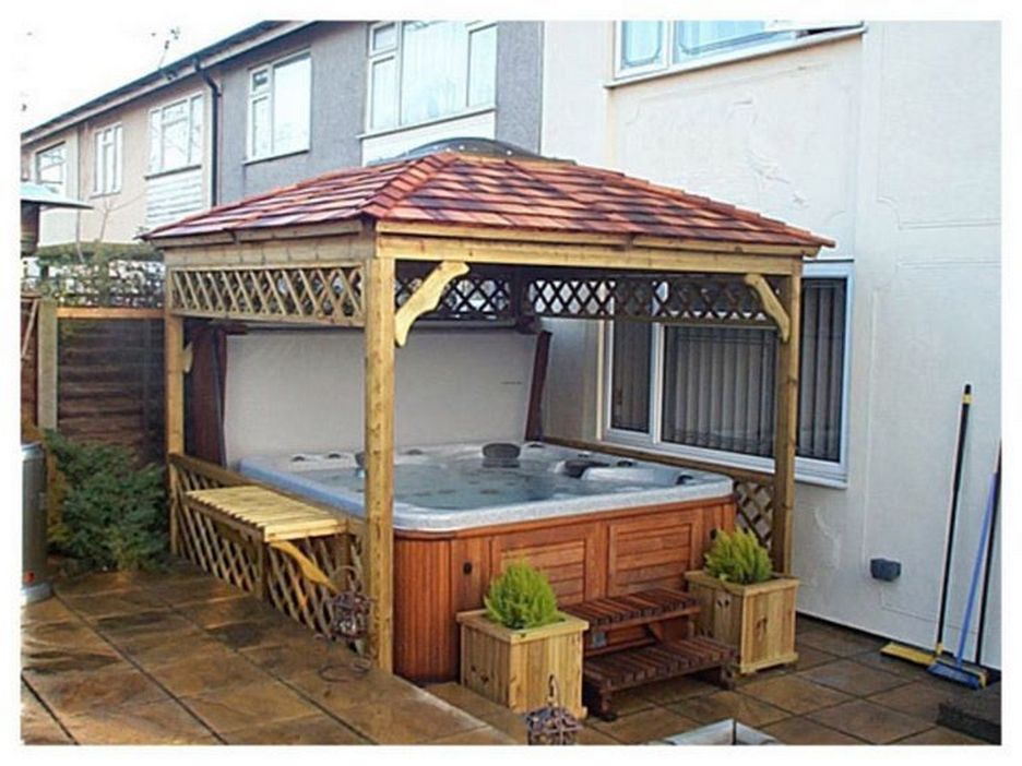 97 Great Patio Gazebo Canopy Design Ideas That Are Great For Replacing Your Gazebo Canopy 91