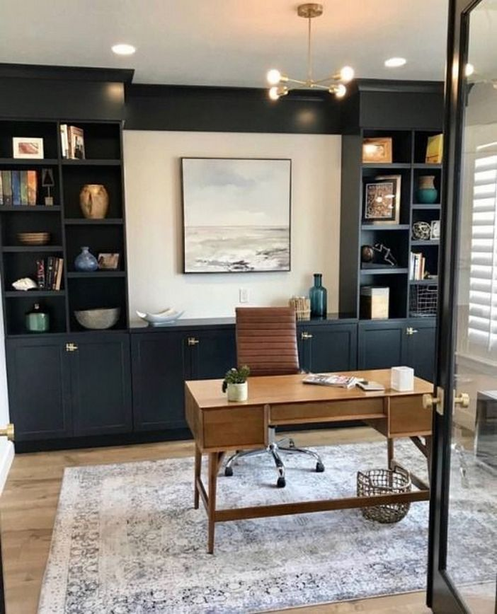 98 Perfect Home Office Decoration Models And Tips For Making Them 13