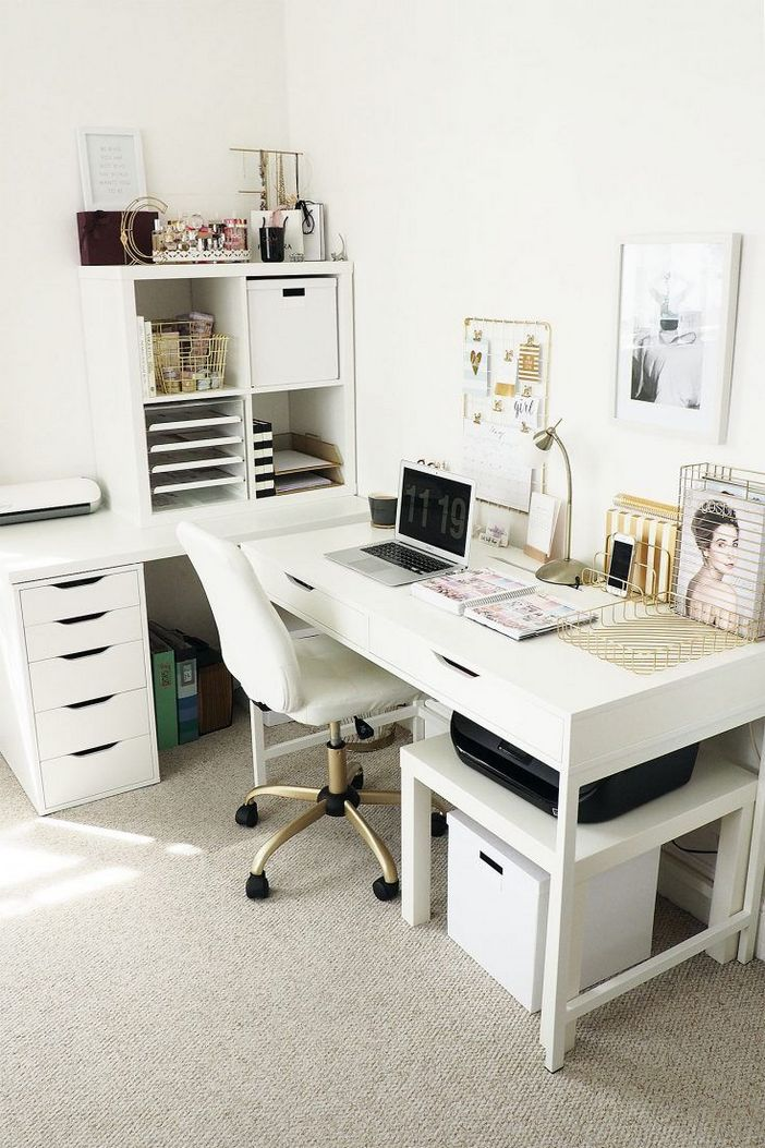 98 Perfect Home Office Decoration Models And Tips For Making Them 18