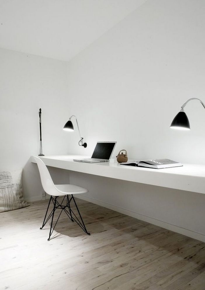 98 Perfect Home Office Decoration Models And Tips For Making Them 19