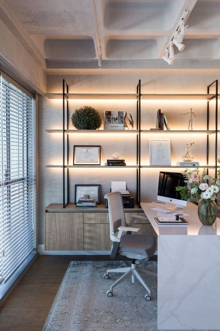 98 Perfect Home Office Decoration Models And Tips For Making Them 4