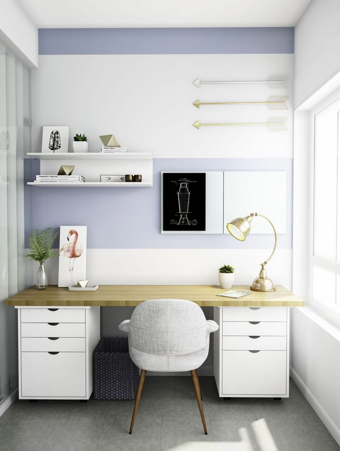 98 Perfect Home Office Decoration Models And Tips For Making Them 45