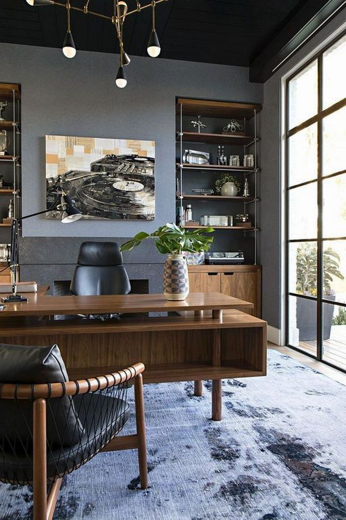98 Perfect Home Office Decoration Models And Tips For Making Them 49