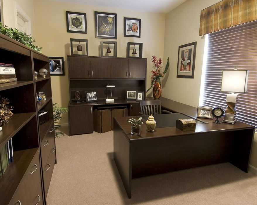 98 Perfect Home Office Decoration Models And Tips For Making Them 57