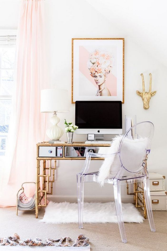98 Perfect Home Office Decoration Models And Tips For Making Them 63