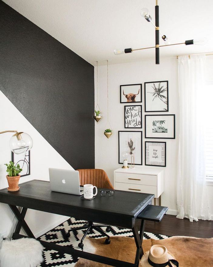 98 Perfect Home Office Decoration Models And Tips For Making Them 75