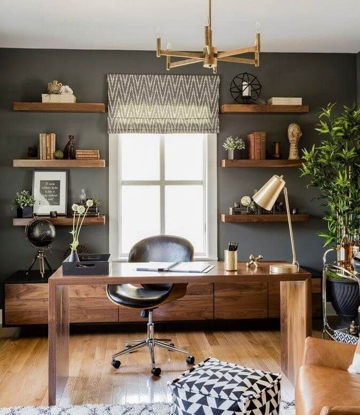98 Perfect Home Office Decoration Models And Tips For Making Them 77