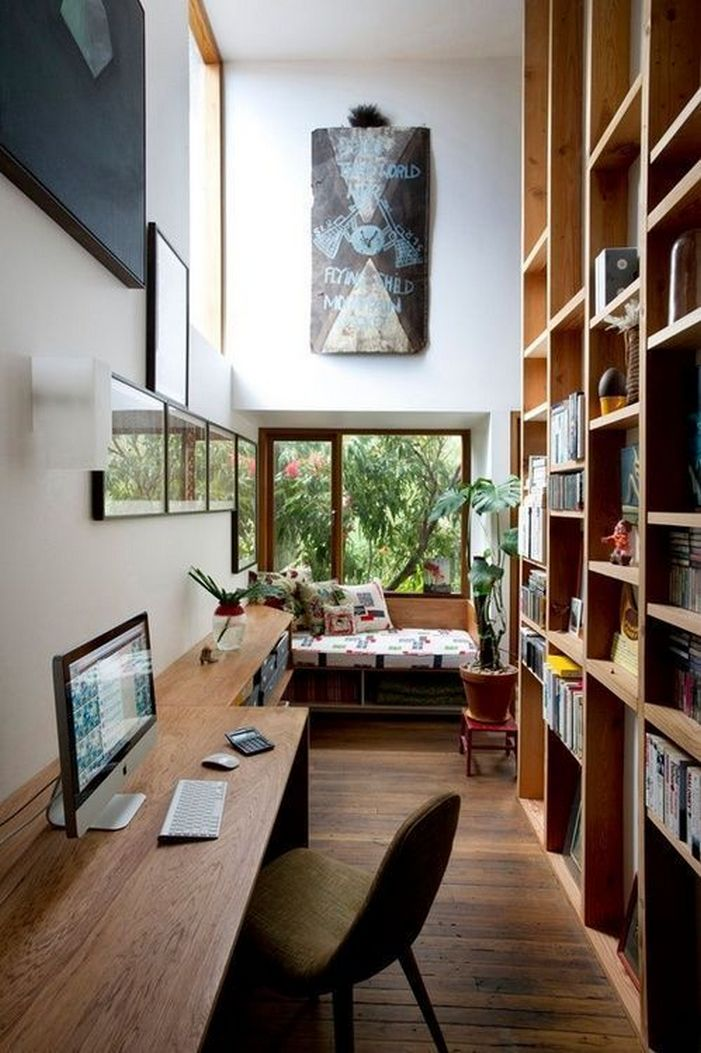 98 Perfect Home Office Decoration Models And Tips For Making Them 91