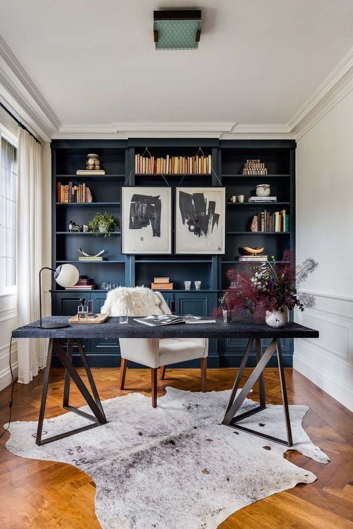 98 Perfect Home Office Decoration Models And Tips For Making Them 97
