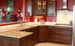 92 Models Of Cherry Kitchen Cabinets Are A Classic Alternative Choice To Meet Your Home Decor 36
