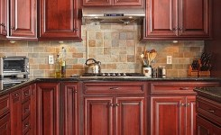 92 Models Of Cherry Kitchen Cabinets Are A Classic Alternative Choice To Meet Your Home Decor 85