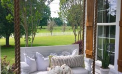 71 Beautiful Swing Models For Your Front Or Back Porch 19