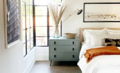 Bedroom Decor Models With Solid Wood Tables With Beautiful Drawers Beside 30