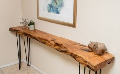Live Edge Wood Console Table 2